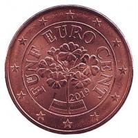 5 евроцентов 2019 год. Австрия