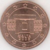 5 Евроцентов 2008 год. Мальта