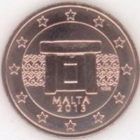 5 Евроцентов 2013 год. Мальта