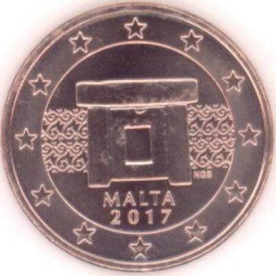 5 Евроцентов 2017 год. Мальта