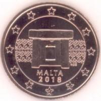 5 Евроцентов 2018 год. Мальта