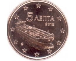 5 евроцентов 2012 год. Греция