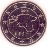5 Евроцентов 2018 год. Эстония