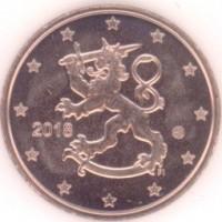 5 евроцентов 2018 год. Финляндия