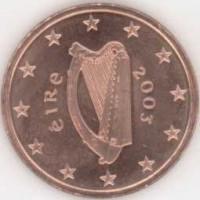 5 евроцентов 2003 год. Ирландия