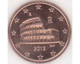 5 евроцентов 2013 год. Италия
