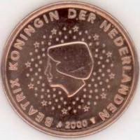 5 Евроцентов 2000 год. Нидерланды