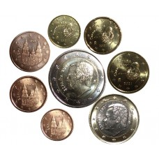 Испания. Набор евро монет 2021 год
