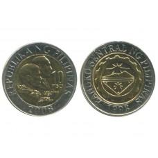 10 песо 2008 год. Филиппины