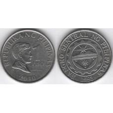 1 песо 2010 год. Филиппины