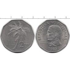 2 песо 1983 год. Филиппины