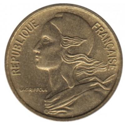 10 сантимов 1991 год. Франция.