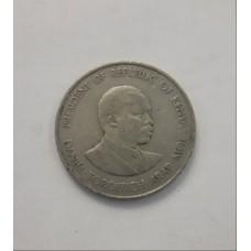1 шиллинг 1980 год. Кения