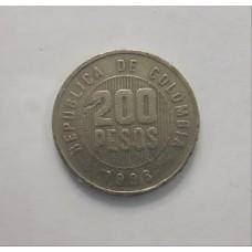 200 песо 1996 год. Колумбия