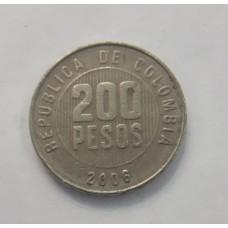 200 песо 2006 год. Колумбия