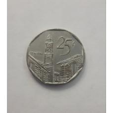 25 сентаво 2001 год. Куба