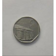 5 сентаво 2006 год. Куба
