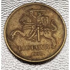 20 центов 1998 год. Литва.