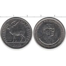 1/2 рупии 2013 год. Маврикий