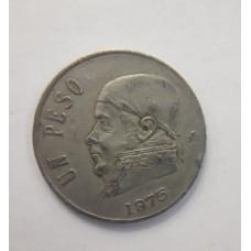 1 песо 1975 год. Мексика
