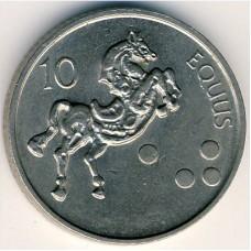 10 толаров 2001 год. Словения