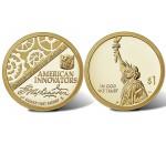 """1 доллар серия """"Американские инновации"""""""