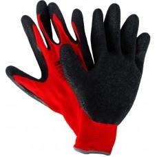 Перчатки рабочие Dexter с латексным покрытием