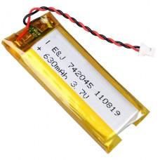 Аккумулятор (LiPo) 630 mAh для наушников WS2, WS3, WS4, WS5, RC