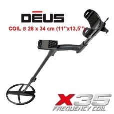 Металлоискатель XP Deus v5.21 c блоком, катушкой X35 28x34 см, без наушников