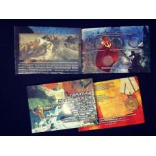 Альбом-коррекс для пяти памятных 5-рублевых монет и банкноты 100 рублей, посвященных Крыму и Севастополю.
