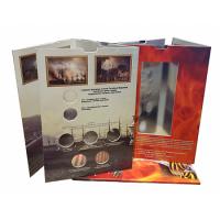 Альбом-коррекс для пяти 5-рублевых и двух 10-рублевых памятных монет и банкноты 100 рублей, посвященных Крыму и Севастополю.