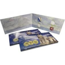 Буклет на 2 монеты и банкноту Вхождение в состав РФ Республики Крым и города Севастополь 2014 - 2015