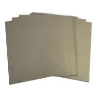 Комплект картонных разделителей 200*250 мм, Оптима (5 шт.)