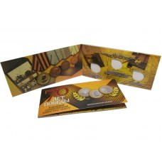 Буклет - 70 лет Победы в ВОВ (на 3 монеты) желтый