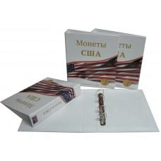 Альбом для монет США, 230х270мм, без листов