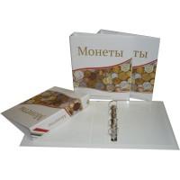 Альбом для современных монет, 230х270мм, без листов