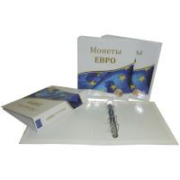 Альбом для Евро-монет, 230х270мм, без листов (ЕВРО)