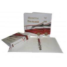 Альбом для монет Польши, 230х270мм, без листов