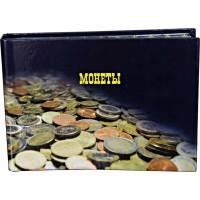 Альбом горизонтальный для монет на 240 ячеек, ламинированный.