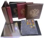 - Альбомы и листы для значков и медалей