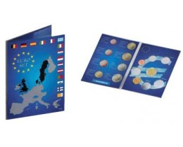 Планшет EURO SET, для набора монет евро. Leuchtturm, #315678