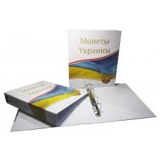 Альбом вертикальный 230х270 мм, для монет Украины, без листов