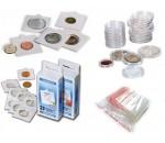 Капсулы, холдеры, пакетики и другие аксессуары для монет
