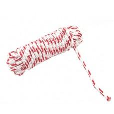 Веревка для поискового магнита, бел/красн 8мм, 10метров, 700кг