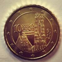 10 евроцентов 2009 год. Австрия
