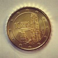 10 евроцентов 2011 год. Австрия