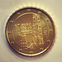 10 евроцентов 2012 год. Австрия