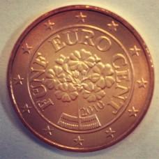 5 евроцентов 2010 год. Австрия