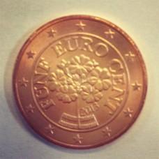 5 евроцентов 2013 год. Австрия