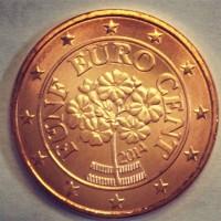 5 евроцентов 2014 год. Австрия